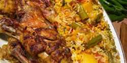طرز تهیه کاری پلو با سبزیجات خوشمزه و مخصوص به روش هندی