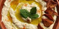 طرز تهیه متبل غذای خوشمزه و مخصوص لبنانی با بادمجان