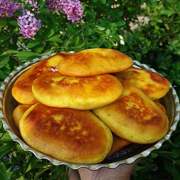 طرز تهیه نان زیره تابه ای , دستور پخت نان زیره تابه ای