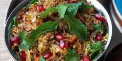 طرز تهیه بریانی سبزیجات هندی خوشمزه و مخصوص خانگی