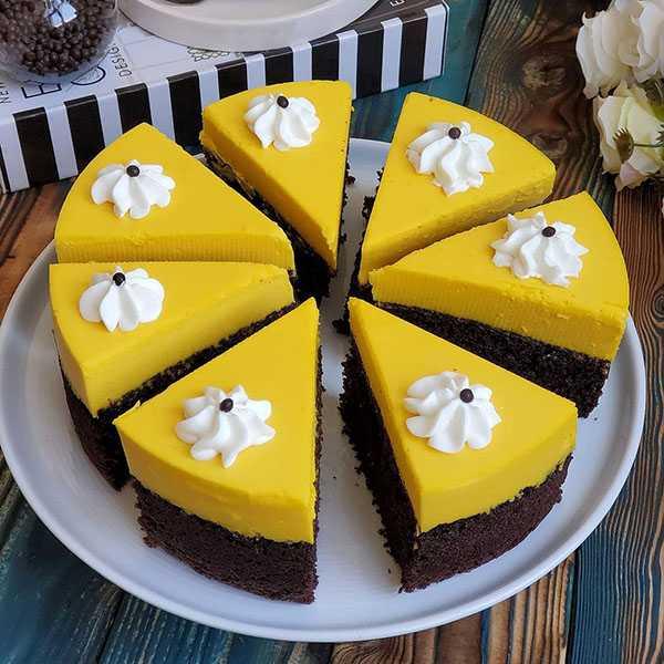 چیز کیک زعفرانی , طرز تهیه چیز کیک زعفرانی , دستور پخت چیز کیک زعفرانی