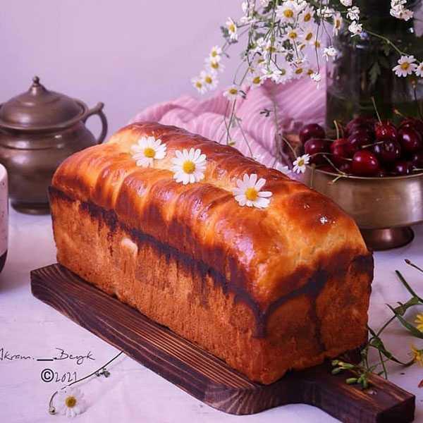 نان استروسل آلمانی , طرز تهیه نان استروسل آلمانی , دستور پخت نان استروسل آلمانی