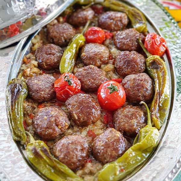 کوفته گوشت ترکیه ای , طرز تهیه کوفته گوشت ترکیه ای , دستور پخت کوفته گوشت ترکیه ای