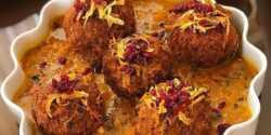 طرز تهیه کوفته هلو خوشمزه و مخصوص به روش اصل شیرازی