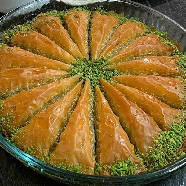 باقلوای هویج , طرز تهیه باقلوای هویج , دستور پخت باقلوای هویج