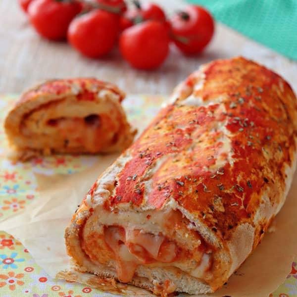 طرز تهیه رول پیتزا سوخاری طرز تهیه پیتزا رولی بدون فر پیتزا لوله ای